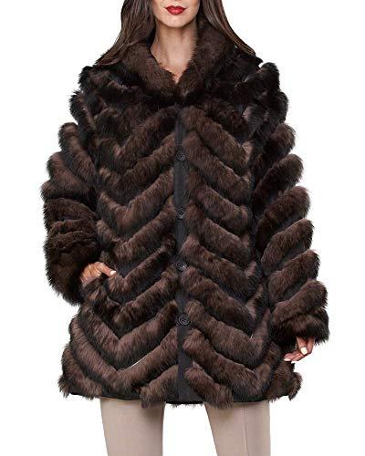 frr Reversible Fox Stroller Coat