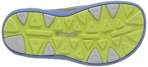 Columbia Techsun Vent - Sandalias Deportivas de material sintético niña gris - Gris (060)