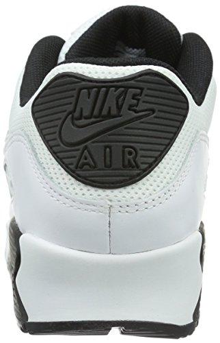 NIKE Air Max 90 Essential - Zapatillas de correr de cuero hombre Blanco (White/black)
