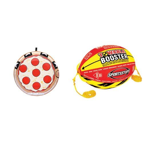 Sportsstuff Pizza Towable Booster Ball Bundle by