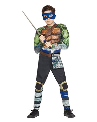 Kids Leonardo Costume Teenage Mutant Ninja Turtles: Out of the (Ninja Turtle Costume Spirit Halloween)