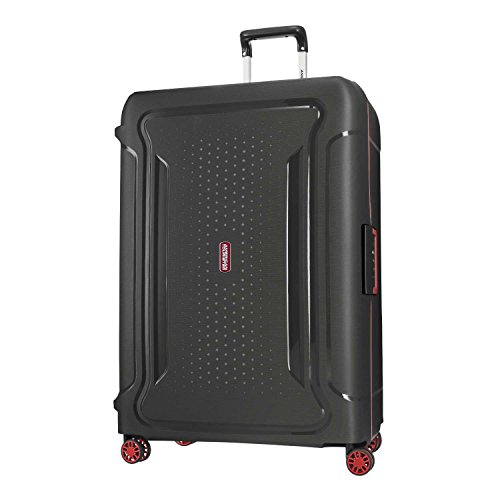 American Tourister Tribus Hardside Luggage, Black, Checked-Large American Tourister Ilite Luggage