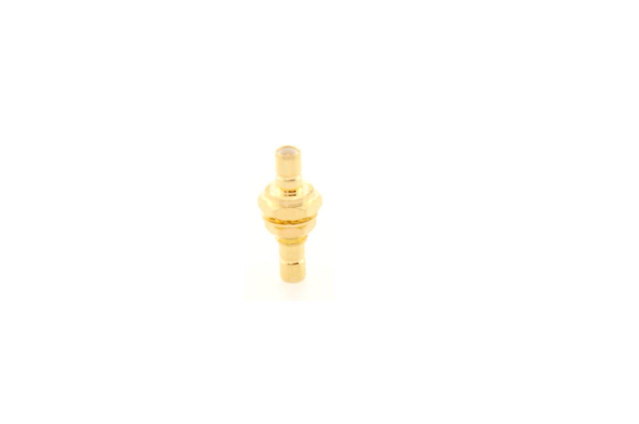 Alda PQ Adapterstecker fü r SMB/F Bulkhead auf SMB/F