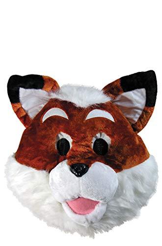 Mascot Masks - Fox Mask White
