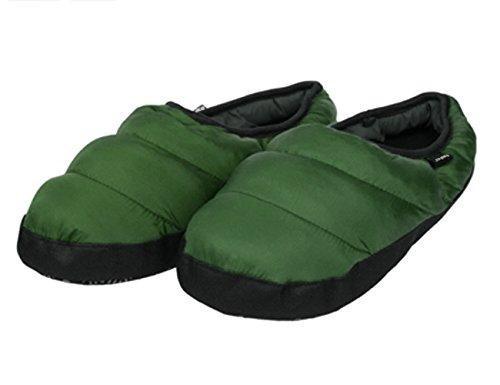 Noir Chaussures Chaleureux Chausson Doux Pantoufle Vert femme Confortable 44 45 En Peluche Imperméable Et D'intérieur Pantoufles Antidérapante Homme Hiver Léger Taille XwqzIaS