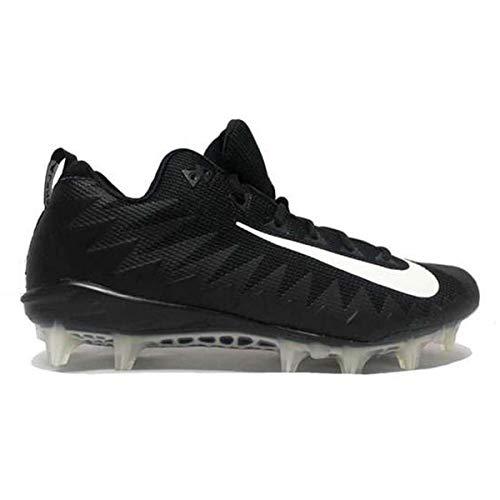 Nike Alpha Pro 2 3/4 TD Football Cleats (14, Black/White) (Nike Mens Alpha Pro 2 Td Football Cleats)