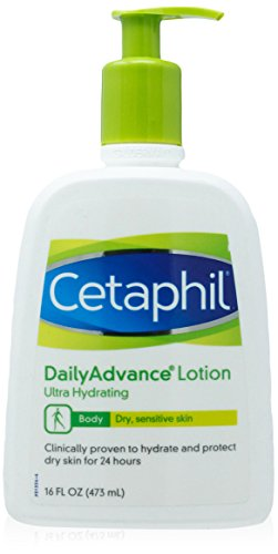 Cetaphil Daily Advance Lotion, Ultra Hydrating, 16 Ounce from Cetaphil