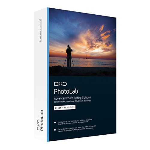 DxO PhotoLab - Advanced Photo Editing Solution - Essential Edition