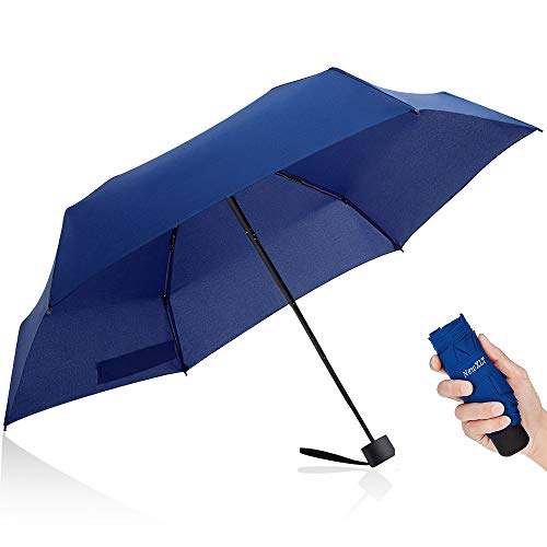 Mini Umbrella, Travel Umbrella Folding Lightweight Umbrella Anti-UV Golf Umbrella Small Pocket Parasol