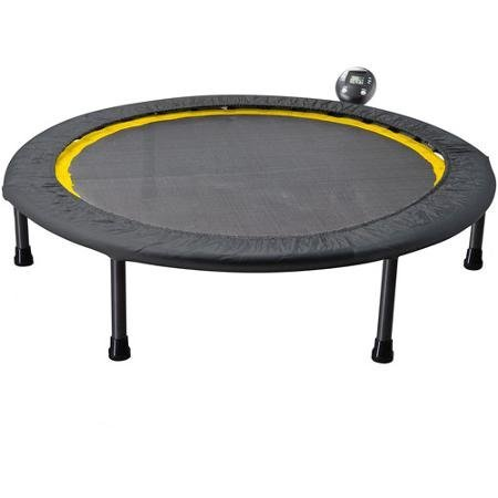 Gold's Gym Portable Circuit Trainer Trampoline Ideal for Cardio Workouts - includes monitor for tracking calories burned, time and jump count -