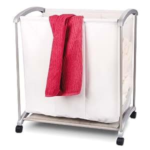 Cesto para la colada carrito para la colada ropa sucia - Cesto ropa sucia amazon ...