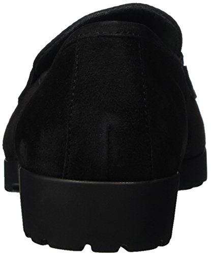 001 Caprice Black Damen Slipper Schwarz 24650 XXq8SwznF