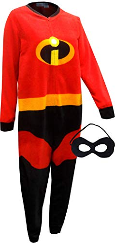 The Incredibles Onesie (Pixar The Incredibles 2 Holiday Family Sleep Matching Onesie Pajama with Mask (XS)