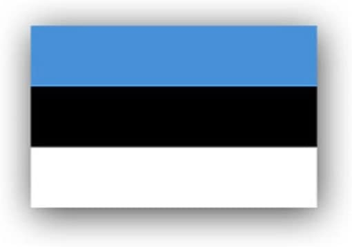Bandera de Estonia Eesti Vabariik Estado del Norte estonio Tallinn Europa democracia parlamentaria República insignia emblema para Audi A3 BMW VW Golf GTI Mercedes (11 x 7 cm) – Adhesivo de pared