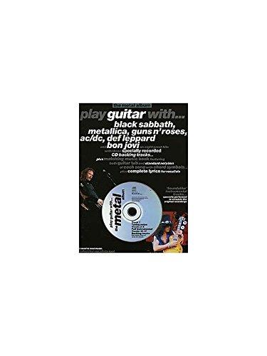 Play Guitar With... The Metal Album. Partituras, CD para Acorde de ...