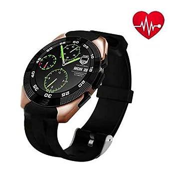 A prueba de sudor Smartwatch GPS deporte relojes con pantalla táctil, LED, HD,