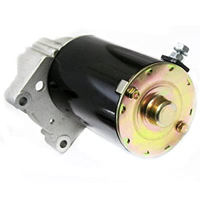 Caltric Starter for Briggs & Stratton 498148 495100 Longer Case Ccw 16 Tooth Drive: Automotive