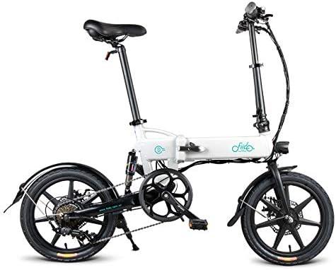 SUQIAOQIAO Fiido Bicicleta eléctrica D2S, Bicicleta Plegable ...
