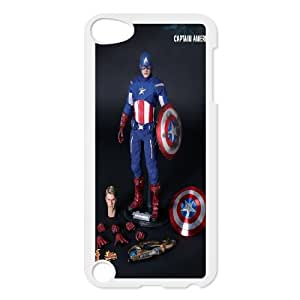 Custom Case Captain America for Ipod Touch 5 Y4U5238861