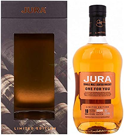 Jura Jura ONE FOR YOU 18 Years Old Single Malt Scotch Whisky Limited Edition 52,5% Vol. 0,7l in Giftbox - 700 ml