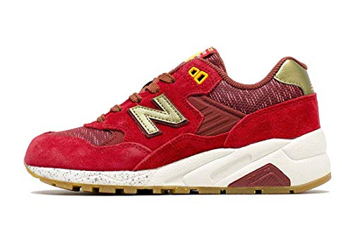 - New Balance 580 Lost Worlds Women's Running Shoes WRT580LB Red Gold NIB (6)