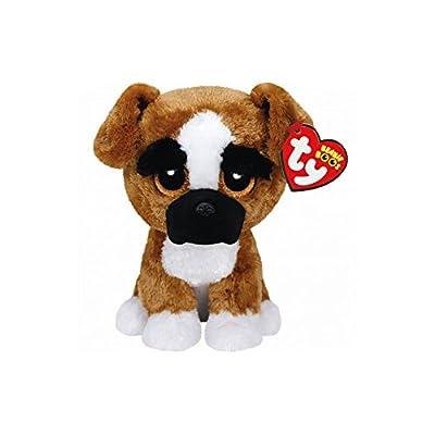 "Holland Plastics Original Brand TY Beanie Boos 6"" Brutus The Boxer Dog, Perfect Plush!: Toys & Games"