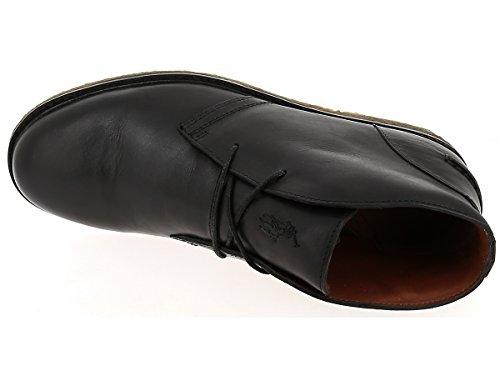 polacchino LAUREN uomo boot man RALPH scarpa MARLOW POLO C2196 Nero shoe nero fxTgqdAT