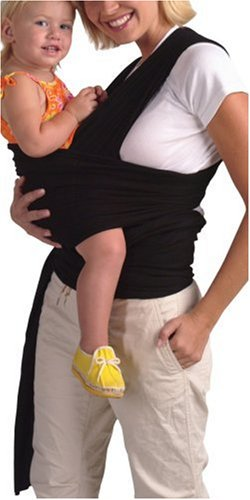 Amazon Com Parents Of Invention Ultimate Baby Wrap Black Baby