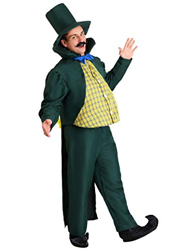 Adult Munchkin Mayor Costume Medium Green -