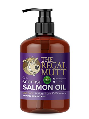 The Regal Mutt - Salmon Fish Oil for Dogs (1 Litre)