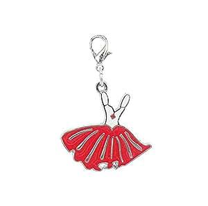 Charm vestido rojo y negro by Charming Charms