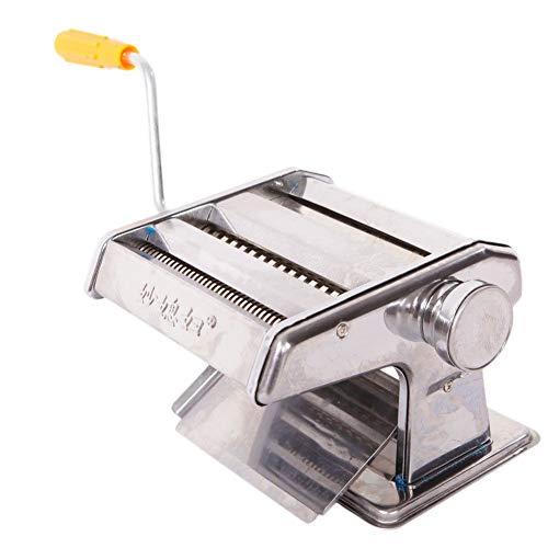 150mm 6' Pasta Maker & Roller Machine Noodle Fettuccine Maker w/Hand-cranking