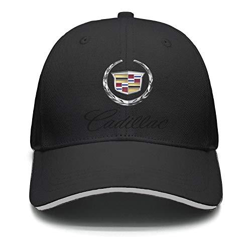 Unisex Outdoor Cadillac-Emblem-Symbol-Logo- Baseball Cap ()