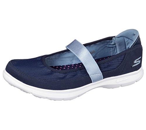 Zapatillas Skechers Go Step sin cordones para mujer 47431 Azul