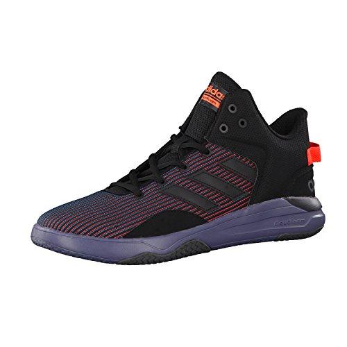 adidas NEO Herren Sneaker CLOUDFOAM REVIVAL MID core black/core black/solar red 47 1/3