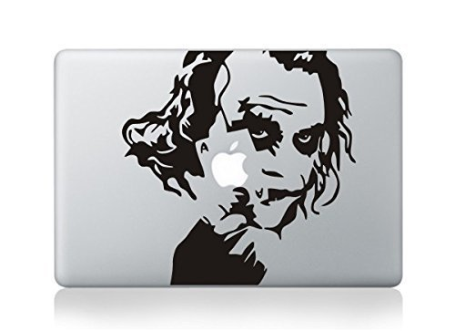 The Joker Ace MacBook Pro / Air sticker decal vinyl skin design by Mac Tatt! Customize your Apple Laptop computer!