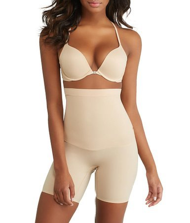 Spanx Women's Shape My Day High Waisted Mid-Thigh Natural Body Shaper MD