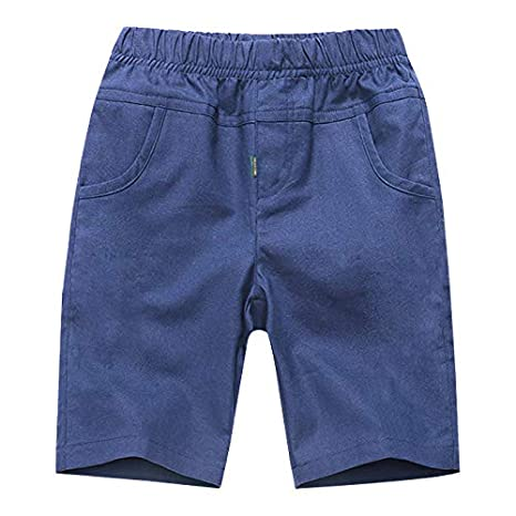 Coralup Boys Short Sleeve Sets 2pcs Kids Print T-Shirt/&Elastic Waist Pant 3-13 Years