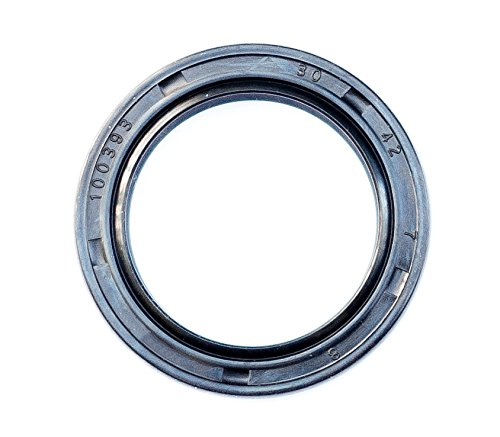 Oil Seal and Grease Seal TC 30X42X7 Rubber Double Lip with Spring 30mmX42mmX7mm (2 Pieces) by EAI Parts