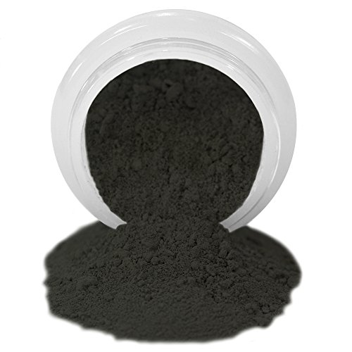 ColorPops by First Impressions Molds Matte White/Natural/Black 25 Edible Powder Food Color For Cake Decorating, Baking, and Gumpaste Flowers 10 gr/vol single jar - Five Color Natural