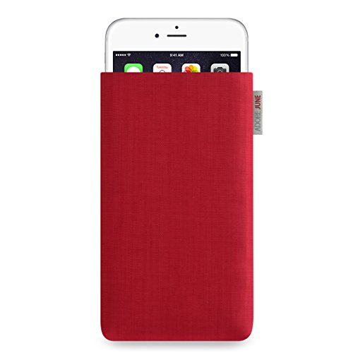 Adore June Classic Hülle für Apple iPhone 6 Plus / 6s Plus und iPhone 7 Plus - original Cordura - rot