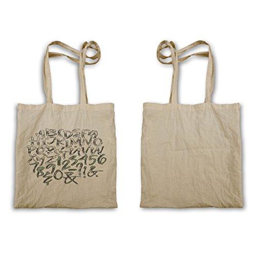 Lettere Maiuscole Numeri Art Tote Bag R125r