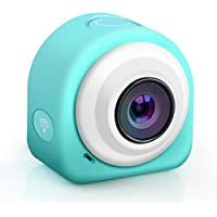 Flinelife Mini Action Camera WIFI HD 1080P 8MP Sports Camera with 145° Wide Angle Lens + 2.4G Remote Controller + Magnetic/Sticky Mounting