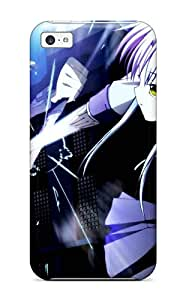 For Iphone 5c Premium Tpu Case Cover Angel Beats Protective Case