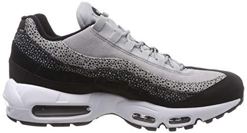 Prm Max Air Nike Donna Wmns 95 wolf 42 Grey 016 Da Scarpe Eu white Black Fitness wIRwBqx4