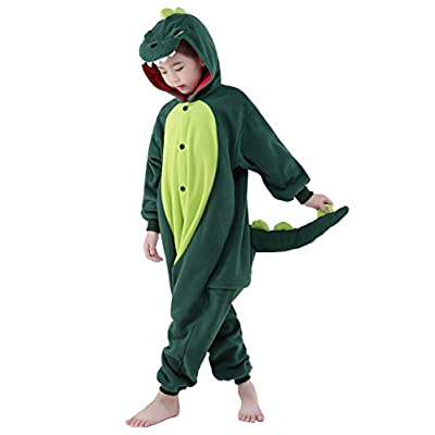 CANASOUR Kids Raccoon Onesie Animal Unisex Pajamas Children (4-10T): Clothing