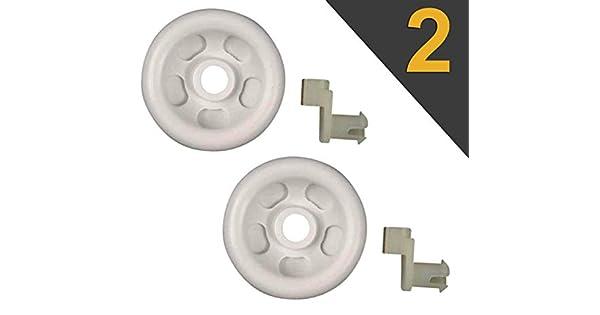Amazon.com: WP2955-0007 - Rodillo para lavavajillas (2 ...