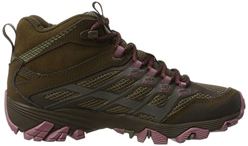 Mid Shoes Merrell Boulder Moab Womens FST Walking GTX RxEwAYTErq