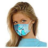 50 Pack 3Ply Butterfly Disposable Face_Mask for