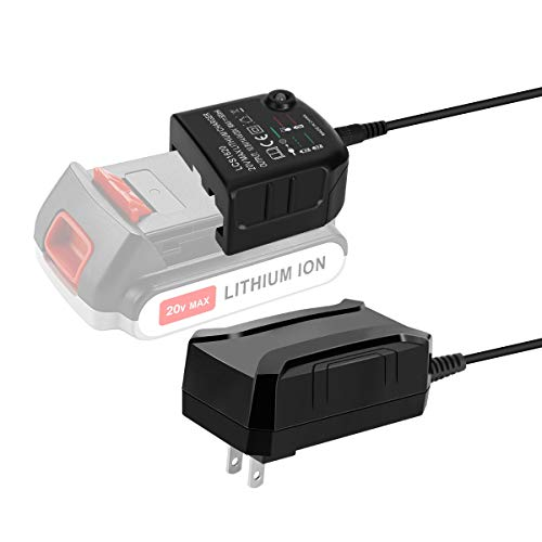 LANMU 20V Lithium Battery LCS1620 Charger for Black and Decker 20V Lithium Ion Battery LBXR20,LBXR20-OPE,LB20,LBX20,LBX4020,LB2X4020,LBXR2020-OPE,LB2X3020-OPE,LBXR20BT
